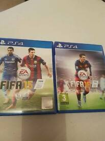 Fifa 15 & Fifa 16