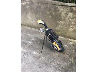Golf clubs junior half set