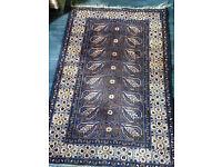 Beautiful Vintage/Antique 100% Wool Rug