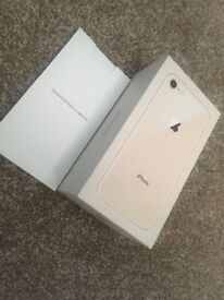 Iphone 8 64GB Rose Gold/Mint Condition