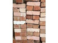 Victorian Red bricks for sale.