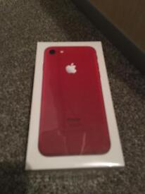 iPhone 7 red *still boxed*