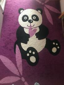 Children rug Lila/black size 120/170