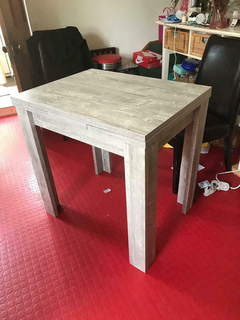Superb Kitchen Dining Table Extending In Muirhead Glasgow Gumtree Bralicious Painted Fabric Chair Ideas Braliciousco