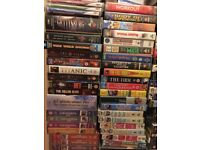Extensive DVD and VHS collection