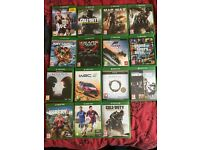Large bundle of Xbox one games swap for other Xbox one or PS4 games