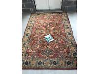 Beautiful old antique vintage Persian / Indian carpet / rug