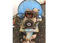 Diesel bowser pressure washer