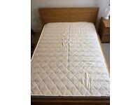 IKEA MALM DOUBLE BED FRAME 155x208 cm (MATTRESS size 140x200 cm)