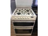 CANNON 60CM ALL GAS COOKER IN WHITE