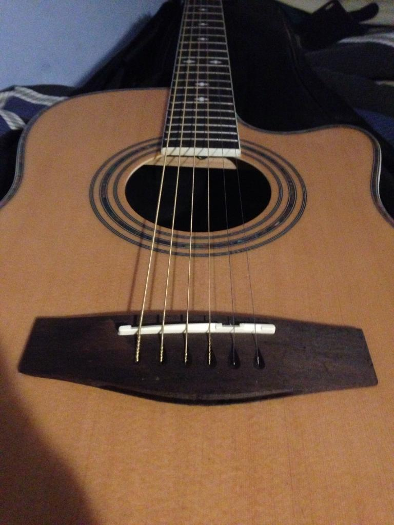 Guitar Guitar Case And Chord Dictionary In Worthing West Sussex