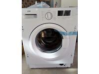 LOGIK INTEGRATED WASHING MACHINE MODEL LIW714W15 RRP £269.99