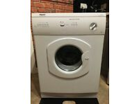 Hotpoint tumble dryer with pipe can deliver for a small charge