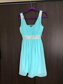 Light blue quiz dress size 12