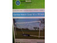 MATCH GOAL !!!!New 9aside football goal.. Brand new 9v9 samba football goal . With locking system