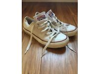 Converse all star trainers size 4 good condition
