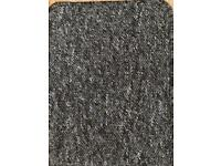 Charcoal tight loop pile carpet (free delivery)