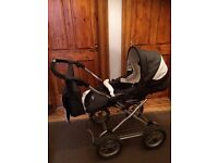 BabyStyle Lux travel system grey