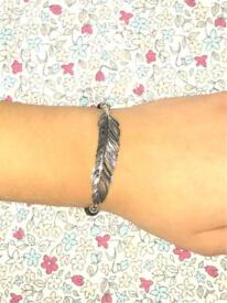 Limited Edition Thomas Sabo Feather Bracelet