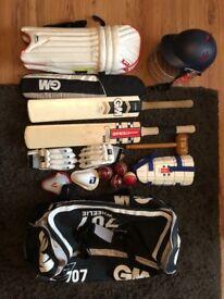 Cricket gear bundle - junior