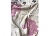 Pair of Next floral curtains