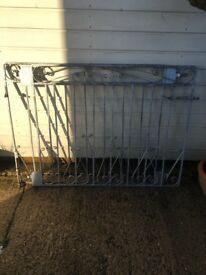 Metal Gates X 2 suitable for garden and driveway use