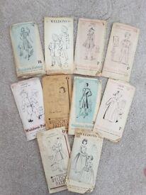 Vintage patterns for sale