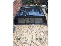 Nissan navara hard top back