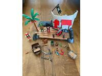 2 Playmobil Fort Sets