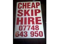 !!!!!!cheapest skip hire!!!!!!!