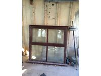 Solid Wood frame window