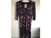 Purple Mantaray dress size 14