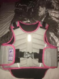 GORGEOUS HARRY HALL BODY PROTECTOR HORSE RIDING