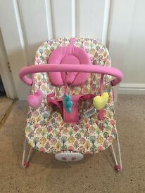 Pink mothercare bouncer