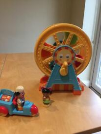 Early Learning Ferris Wheel with ice cream seller