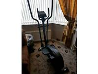 Exercise bike standing