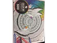 Colour me therapy puzzles