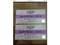 Goodwood revival tickets Saturday 10th September X2
