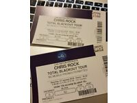 Chris Rock Total Blackout Tour Tickets (floor seating) - London O2 Arena