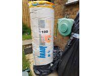 Knauf Insulation Loft Roll - 100mm. Brand new in packaging.