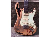 Stratocaster rory Gallagher clone USA loaded