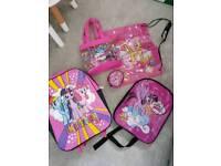 My little pony travel set