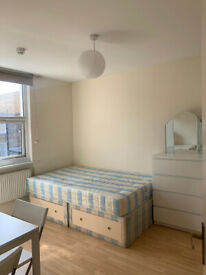 017O – FULHAM - DOUBLE STUDIO FLAT,SINGLE PERSON, FURNISHED, BILLS INCLUDED - £190 PER WEEK