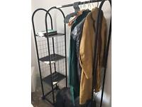 John Lewis clothes rail