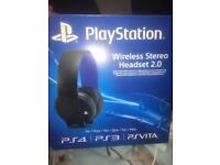 Ps4 gaming headset (wireless)