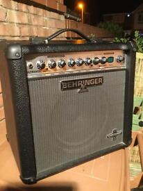 Behringer combo with effects