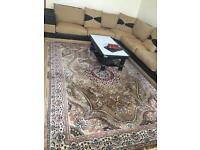 THICK QUALITY SIKLY PERSIAN RUG