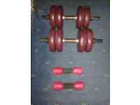 DP Fit For Life Dumbbells and Hand Weights