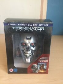 Terminator Genisys Endo Skull Limited Edition Boxset (Blu-Ray)