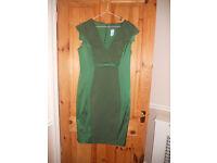 Phase 8 dress, size 14, green